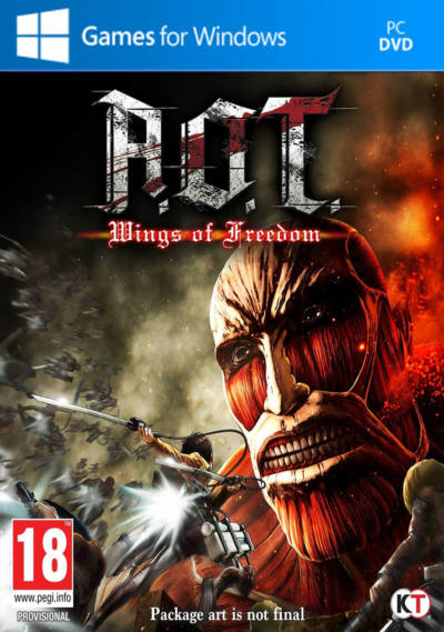 Attack on Titan  A.O.T. Wings of Freedom -Repack-Black Box
