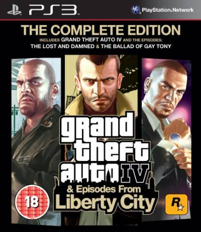 Grand Theft Auto 4 The Complete Edition -EUR-BLES01128-folder game
