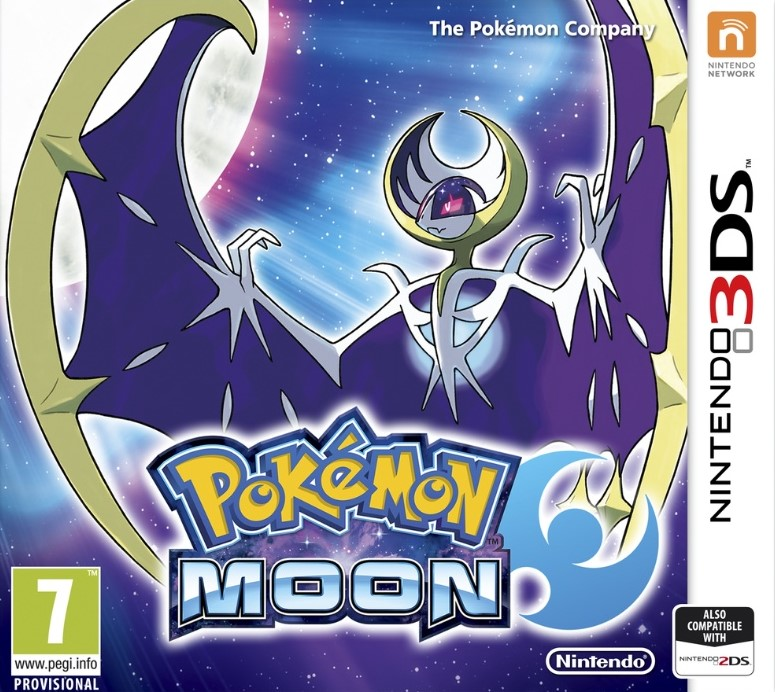 Pokemon Moon -Region Free -[Decrypted]-MULTI8-3DS
