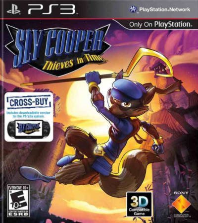 Sly Cooper Thieves in Time -EUR-BCES01284-Folder game