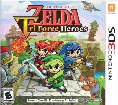 The Legend of Zelda Tri Force Heroes-(EUR)