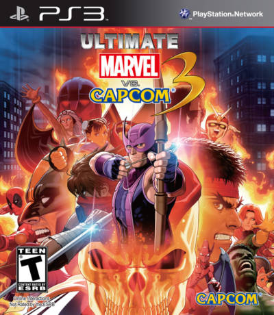 Ultimate Marvel vs. Capcom 3 + dlc -USA-BLUS30787-folder game