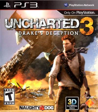 Uncharted 3 Drake's -BCES01175-Folder game