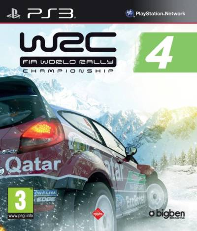 WRC FIA World Rally Championship 4 -USA-BLES01874-FOLDER GAME